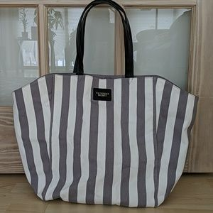 NWT Victoria's Secret Striped Tote bag